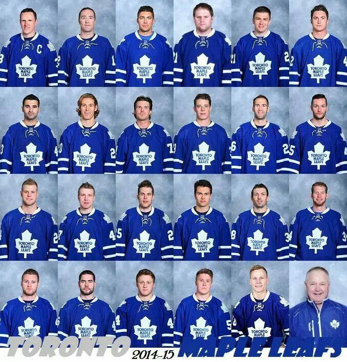 2014-2015 Leafs ☝✌