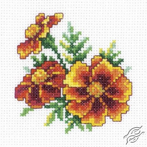 Marigold - Cross Stitch Kits by RTO - H243