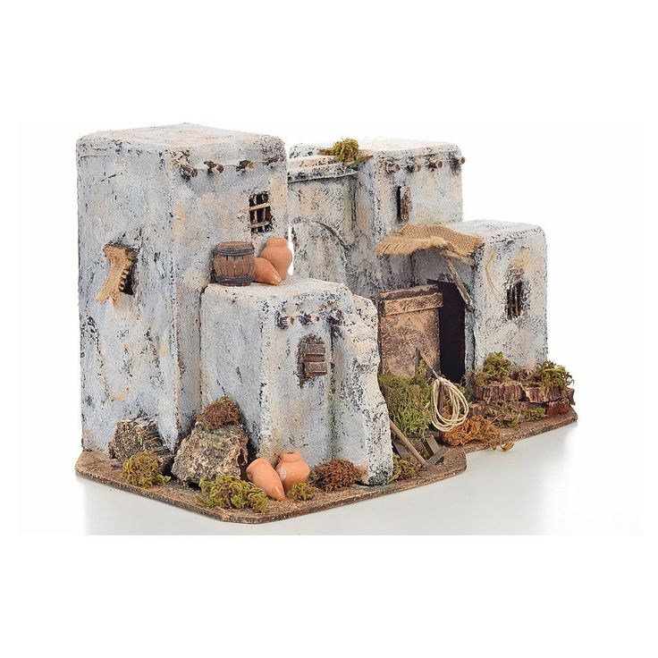 Casa araba 33x22 h. 21,5 cm presepe: Amazon.it: Casa e cucina