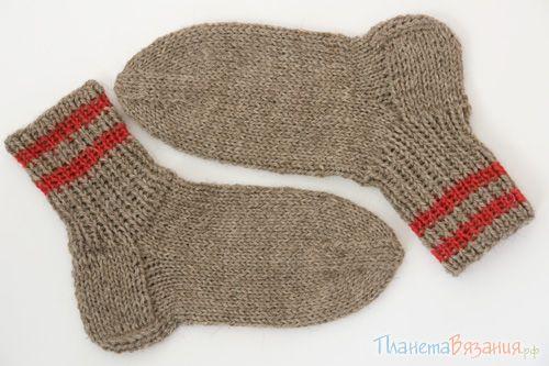 Вязание носков на 5 спицах. Пособие для начинающих. Подробный мастер-класс с фотографиями.