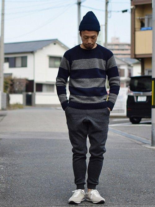 comoda上西猛夫(comoda)|STORES.jpのニット・セーターを使ったコーディネート - WEAR