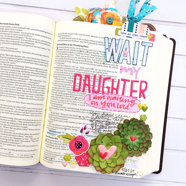 """My daughter, wait until you learn how the matter turns out…"" In Ruth, we find one of my favorite women of the Bible whose story has a dozen different lessons we could walk away with. Recently I was struck by Ruth's relationship with her mother-in-law Naomi. Instead of staying in her own land, Ruth commits herself to the mother of her late …"