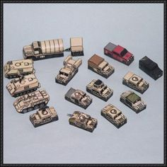 These mini paper models are US Army and USMC military vehicles, created by Pips, and the scale is in 1:250. They are good models for diorama or wargames. You can download the paper model templates here: US Army and USMC Paper Model Set Free Templates Download r