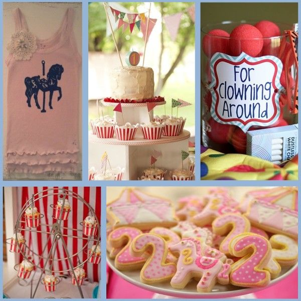 Best Carnival Party Images On Pinterest Carnivals Circus - Circus birthday party ideas pinterest