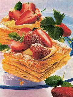 Hospodyně: Jahodové dortíčky