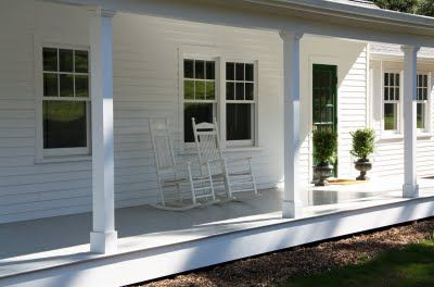 love this whole house redesign by trina burke (and hubby) on the country farmhouse blog