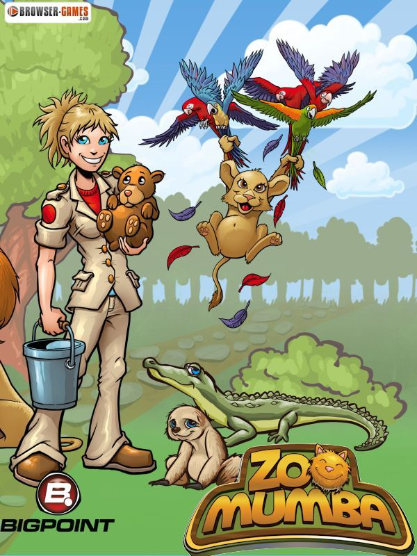 Welcome to the totally crazy zoo game Zoomumba! My name is Zoey and I'll be your guide through this game. You can buy animal habitats in the shop and then place them on your zoo to have them built. Build the best zoo of all time. Have fun!