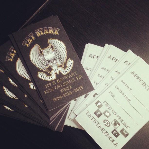 20 best business cards images on pinterest business cards carte tat starz business cards tats tatted tatstarznola tattoo tattoos reheart Gallery