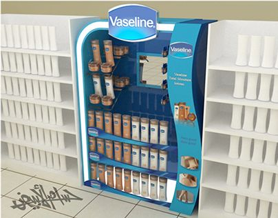 """Check out this @Behance project: """"Vaseline (Gondola ,Stand 2 Options )"""" https://www.behance.net/gallery/11937907/Vaseline-(Gondola-Stand-2-Options-)"""