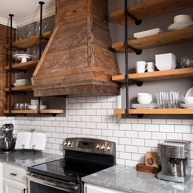 Farmhouse Upper Kitchen Cabinet Decor