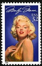 1995 32c Marilyn Monroe, Legends of Hollywood Scott 2967 Mint F/VF NH