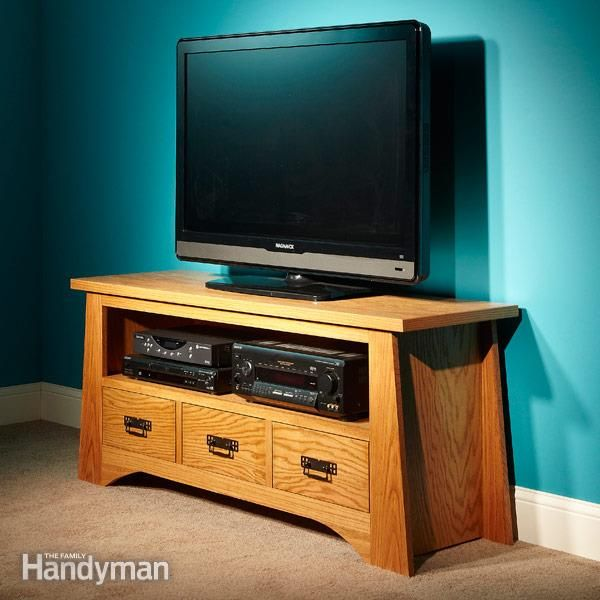 Flat Screen Tv Stand Woodworking Plans - WoodWorking Projects & Plans