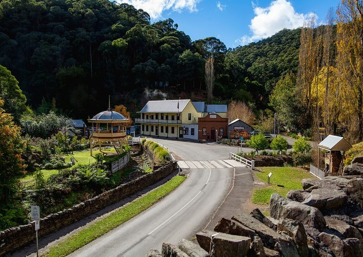 Susan Carmody Photography | Walhalla, VIC A historic gold mining town in the heart of Gippsland's stunning Alpine wilderness, Walhalla is just two hours' drive east of Melbourne, and is popular for its rich history and surrounding scenic nature trails.