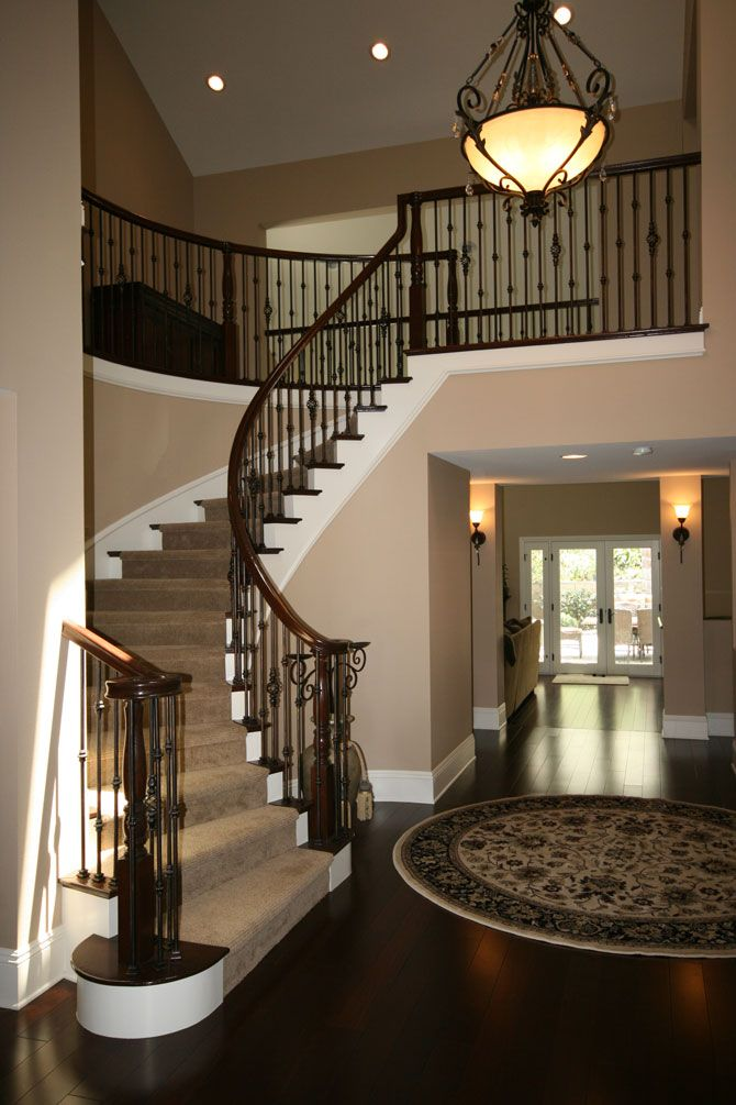 Wow What A Dramatic Makeover Staircase Design