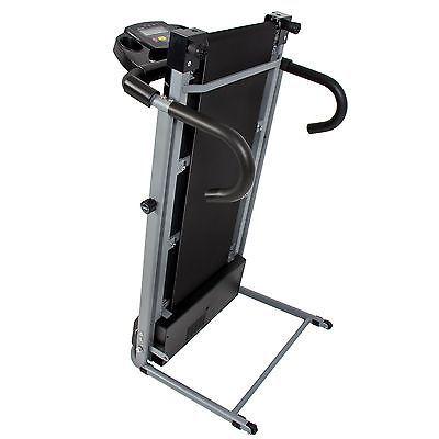Black 500w Portable Folding Electric Motorized Treadmill Running Machine