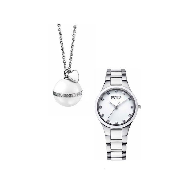 Bering Charity White szett - Limitált kiadás - Bering - óra, karóra, webáruház és üzlet, Vostok, Bering, Ice Watch, Morgan, Mark Maddox, Zeno watch, Lorus