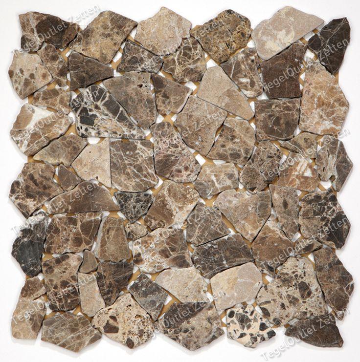 25 beste idee n over bruine tegel badkamers op pinterest - Mozaiek en tegels ...
