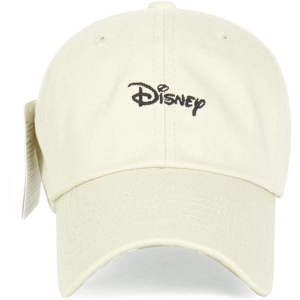 Disney Cotton Embroidered Mickey Mouse Adjustable Curved Hat Baseball... ($20) ❤ liked on Polyvore featuring accessories, hats, disney hats, embroidery hats, embroidered ball caps, mickey mouse baseball cap and cotton baseball cap