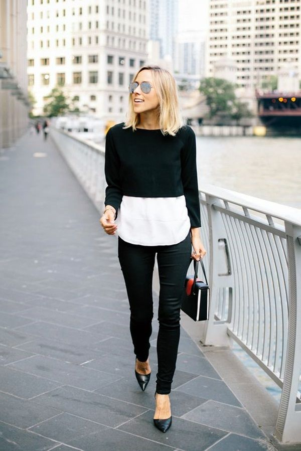 25 Unique Ideas To Make Most Of Your Classic White Shirt | White Shirt Outfits | Classy Outfits | Fenzyme.com