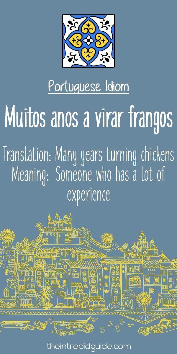 Portuguese phrases Muitos anos a virar frangos #portugueselessons #learnbrazilianportuguese