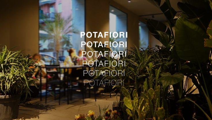 POTAFIORI, il nuovo locale a Milano concepito da Rosalba Piccinni, è un contenitore di colori e di profumi, una casa che accoglie, un luogo calmo, semplice e schietto, uno spazio per i fiori e per la musica, un bistrot con cucina.