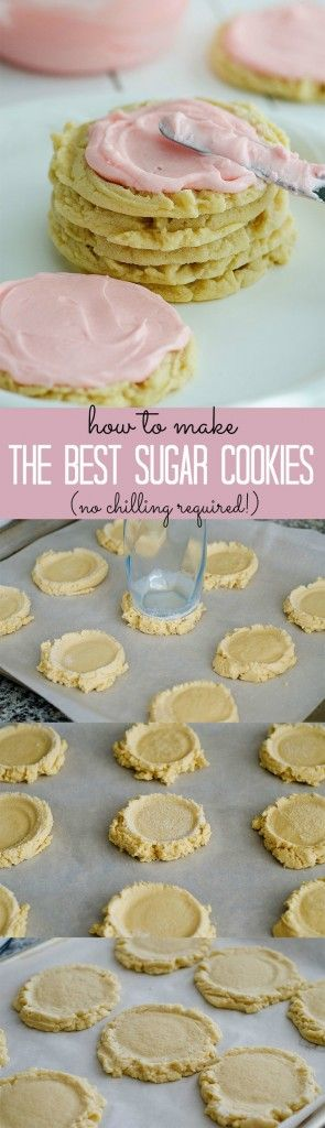 I will never make another sugar cookie recipe again. These really are the best!