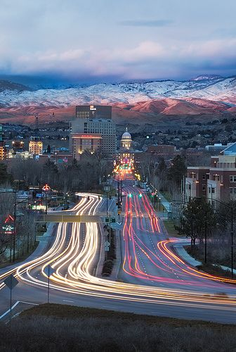 Goodnight Boise... my home town!