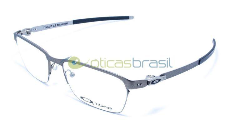 A marca Oakley é conhecida por seus óculos, sempre esportivos, casuais e de muita qualidade. Com os óculos de grau isso não muda, as armações tem desenhos esportivos e estão entre as preferidas do público masculino. Compre já o seu Oakley Tincup 0.5!  http://www.oticasbrasil.com.br/oakley-tincup-0-5-ox-5099-0253-oculos-de-grau