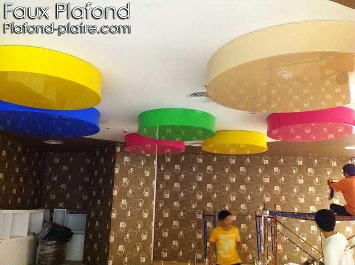 50 best faux plafond images on pinterest conception for Construction faux plafond