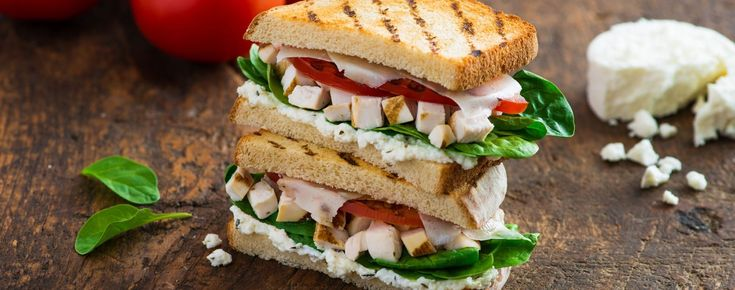 Chopped Chicken Goat Cheese Panini   Woolwich Dairy
