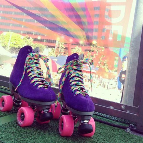 Purple skates!!!! Pinterest: ✦ @sartooch ✦