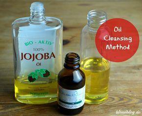 Oil Cleansing Method: Perfekt für unreine Haut & Mischhaut. Nur 2 Inhaltsstoffe: Rizinusöl & Jojobaöl, 100% natürlich, sehr gründliche Gesichtsreinigung