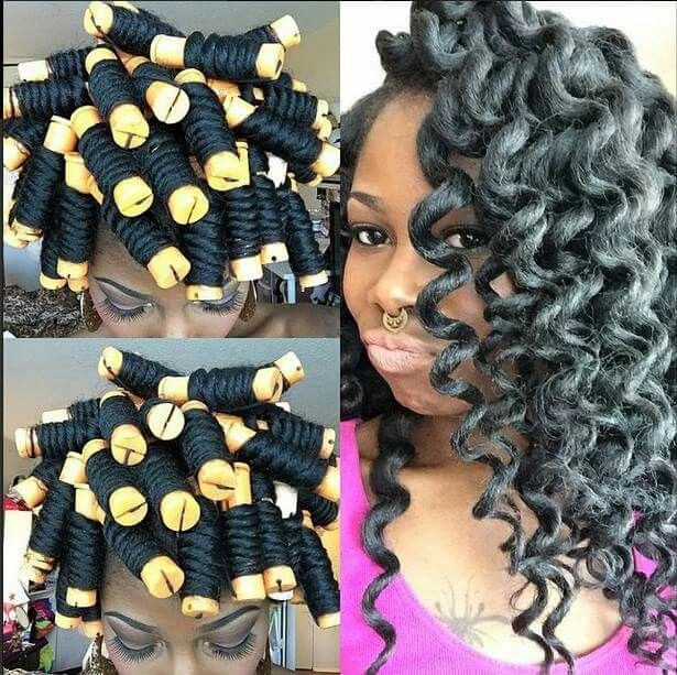 Perm Rods And Crochet Braids Hair Amp Beauty That I Love