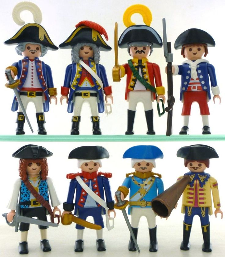Playmobil 8 Mixed Soldiers Military Guard Navy Naval Figures Sword Accessories | eBay
