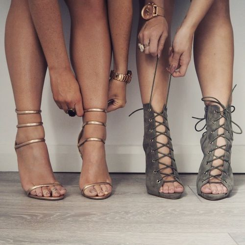 thestylewiki:  strappy sandals