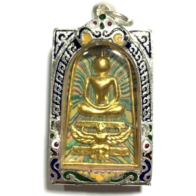 PHRA KHUN PAEN PLAI KUMAN BACK TAKRUT LP TIM MAGIC LOVE CHARM THAI BUDDHA AMULET