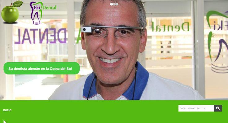 Unsere Webseite präsentiert sich im neuen Design!  ¡Nuestra página web tiene un nuevo diseño!  Our web page has a new design! Schau vorbei - Descrube la página nueva a - Take a look Zahnarzt Málaga - dentista Málaga - dentist Málaga http://ekidental.com/