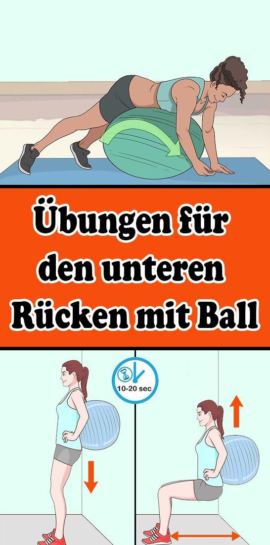 Übungen für den unteren Rücken mit Ball – Monica Hames