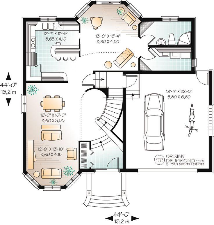 1000 id es sur le th me plan maison etage sur pinterest maison laprise plan maison et etager. Black Bedroom Furniture Sets. Home Design Ideas