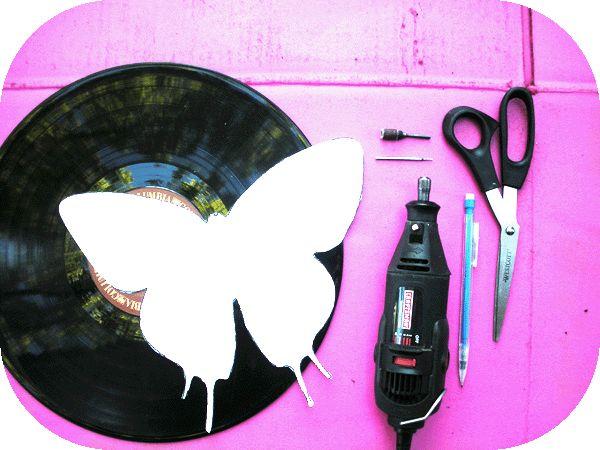 Check out my DIY on the Graffiti Beach website!  http://graffitibeach.wordpress.com/2012/06/27/diy-vinyl-record-butterflies/  or   http://issuu.com/graffitibeach/docs/graffitibeachfall002?mode=window=%23222222