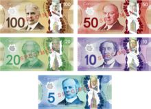 Do you know who is on your bills? Some people all Canadians should be able to recognize.