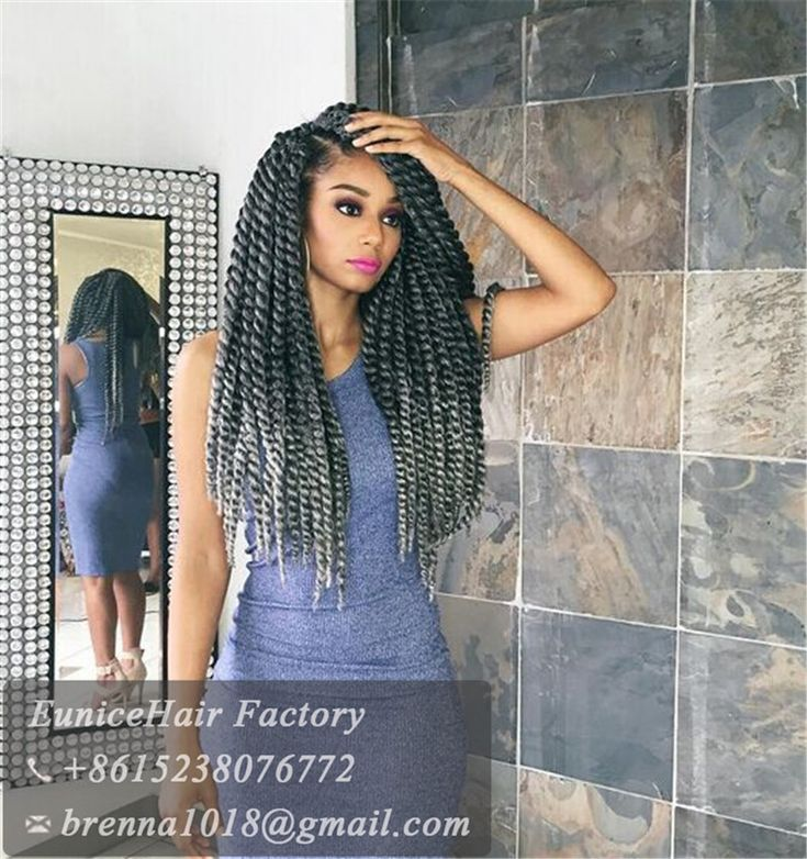 Crochet Braids East London : grey color Havana Mambo Twist Crochet Hair Havana Twist Crochet Braids ...