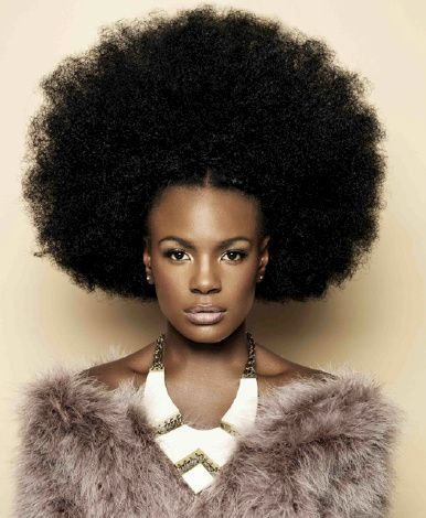 natural afro hairstyles