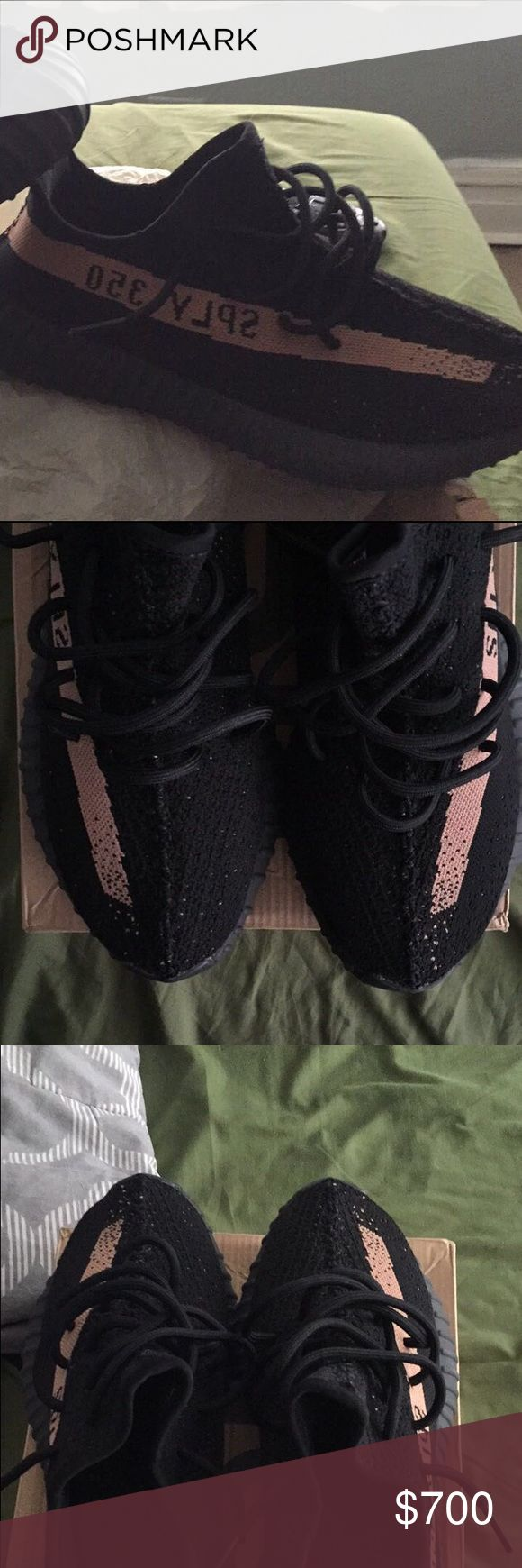 Yeezy boost 360 V2 Copper colorway.. These are authentic yeezys bought off the confirmed app and picked up here in Chicago. Accepting offers. Adidas Shoes Sneakers