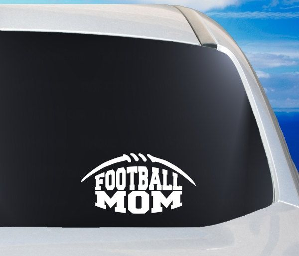 Football mom decal football mom sticker proud football mom football car window decal football pride decal bumper sticker decal