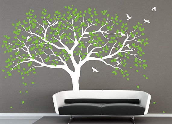 Family Tree Wall Decal Tree Wall Decals Frame By AmazingWall, $79.00 Part 95