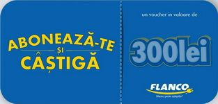 Castiga 5 vouchere Flanco in valoare de 1.500 de lei | Concursuri