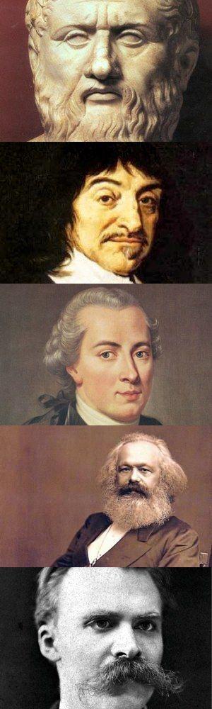 Cinque fondamentali dualismi della storia della filosofia