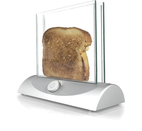 Transparent Toaster Concept   Innovative Thinking, Gadgets & Technology   Is this the world's most stylish toaster?!