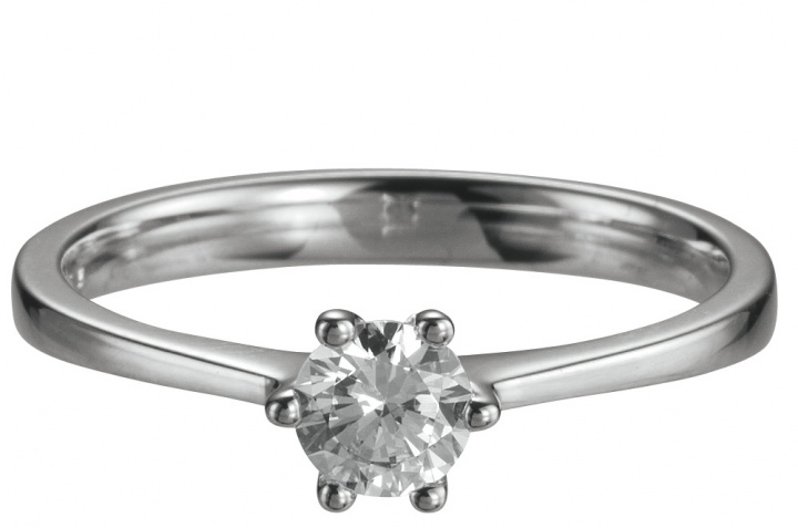 Beautiful Verlobungsring 6 Krappen 0,4 ct by verlobungsring.de #liebe #diamant #wedding